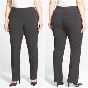 Sejour Ela Modern Fit Career Pants Dark Gray 22WP